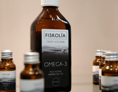 Fiskolia on the Thyme Marketing Stand at Natural & Organic Products 2019